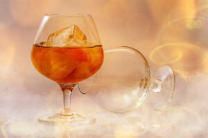 kieliszek alkoholu