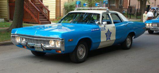 Amerykański radiowóz